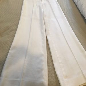 Lilly Pulitzer Wide-Leg Linen Pant